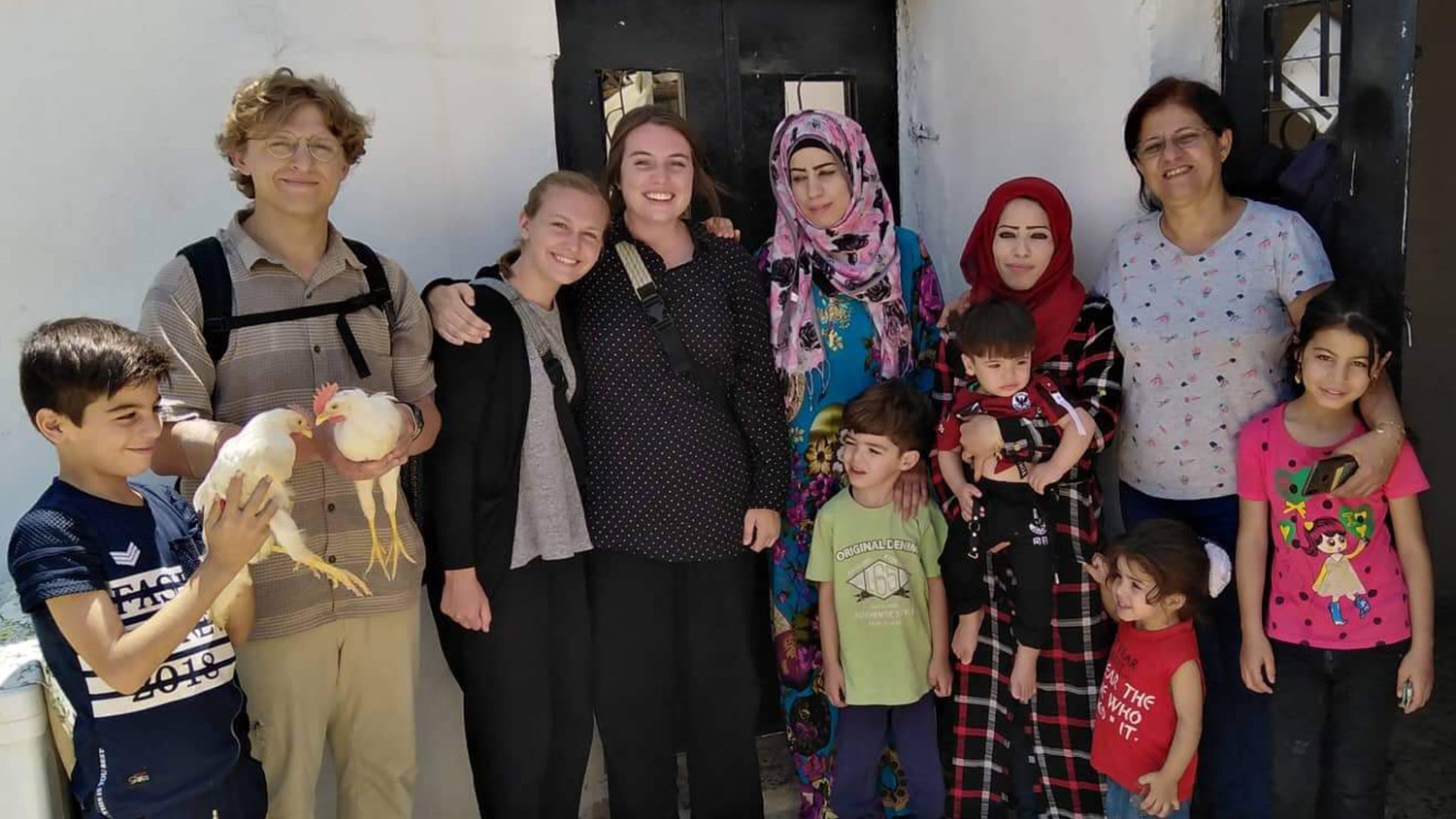 Refugee Family Aid